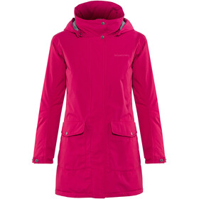 Didriksons 1913 Bliss Parka Women Warm Fuchsia
